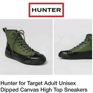 NWT Hunter for Target Sneaker Rain boots